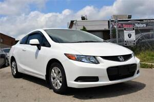 2012 Honda Civic Coupe Automatic 4 Cylinder Bluetooth