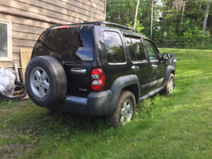 2006 Jeep Liberty Diesel SUV for parts