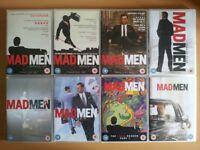 Mad Men Complete Set 1 - 7 DVDs Box Set 50s 60s Retro Vintage TV Box Sets Series Advertising Design
