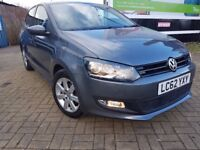 VW POLO, REG62(2012),one owner,LOW MILLAGE ONLY 32000, PETROL 1.2, MANUAL