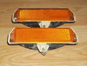 1971 Mustang Front Side Marker Lights