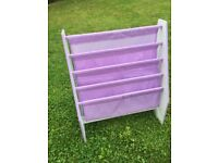 Girl's bookcase/booksling