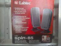 Labtec twin speakers