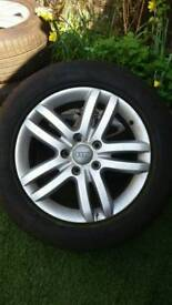 18'' Goodyear tyres and alloy wheels