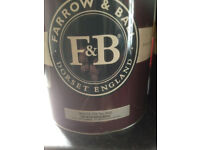 Farrow & Ball probably the best paint on the market . + other Materials for sale