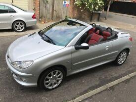 2004 Peugeot 206 CC 2.0 Allure 2dr (a/c) Convertible Good Car @07445775115@