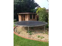 14ft trampoline tp