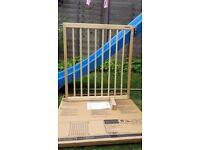 Lindam wooden stair gaite