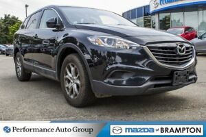 2014 Mazda CX-9 GS|LEATHER|ROOF|BACKUP CAM|BLUETOOTH|HTD SEATS