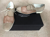 Brand new Viktor & Rolf summer beige shoes (UK size 9)