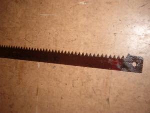 """29"""" bow saw/buck saw blade,good condition and sharp! $5.00"""