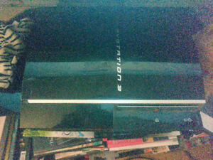 Second Generation 80GB PS3 with Backwards Compatibility