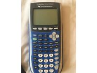 TI-84 PLUS Silver Edition Graphing calculator, with case