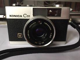 Konica C35 V 35mm film camera