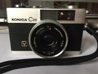 Konica C35 V 35mm film camera