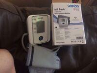 Omron M2 basic automatic blood pressure monitor