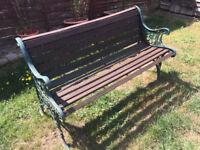 Garden Bench - Repairs