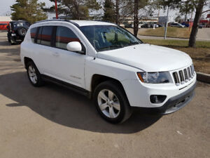 2014 Jeep Compass SUV, 4x4, auto, only 59,000 km, Backup Cam