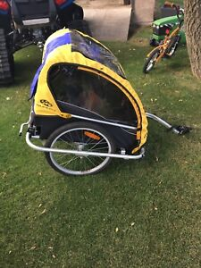 Chariot for two- for bike & jogger