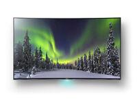 "Sony S85 Series KD55S8505C Black 55"" 3D 4K Ultra HD LED TV"