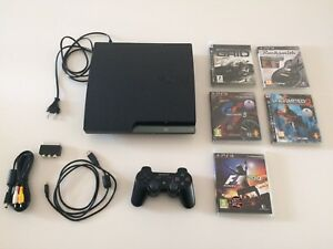 PlayStation 3 - 1 console - 5 games
