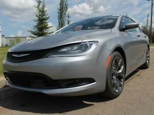 2016 Chrysler 200 S - LEATHER - HEATED STEERING WHEEL - REAR BAC