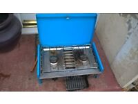 gas hob and grill camping stove