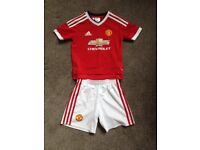 Manchester United Football Kit- Age 5-6 years