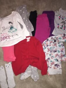 Size 2t Girls Clothing Lot