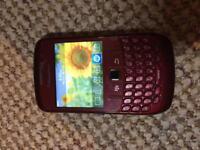 Blackberry Curve phone