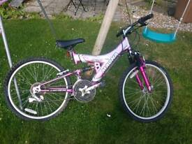 "Girls 24"" Magna Faith Bike"