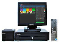 """Complete 17"""" Retail and Hospitality Touchscreen EPOS POS Cash Register Till System"""