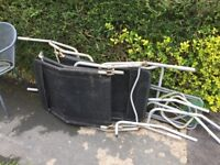 Scrape metal including garden chairs and barbecue