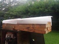 20x wooden beams