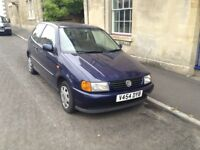 VW Polo for sale - gearbox needs replacing, MOT expires March 2018