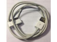 Offical Apple 30-pin USB cable for iPhone/iPad/iPod (like new)