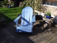 Conservatory or Patio chair,( Adirondack chair,)