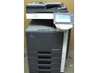 Konica Minolta Bizhub C220 Colour Laser Copier/Printer/Scanner/Mint/Full Toners/Superb Colour !!