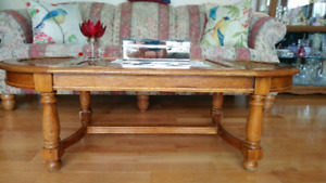 Antique 3-pc. Coffee & 2 End Tables
