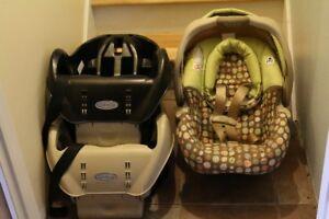 Siège d'auto pour bébé (coquille)