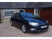 Citroen C5 Exclusive 2008 very low mileage superb condition all usual extras, beautiful car