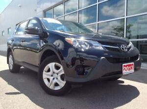 2013 Toyota RAV4 LE AWD!!!JUST TRADED IN!!!