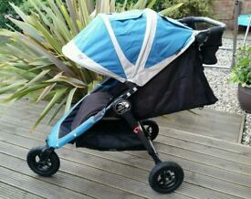 Baby Jogger City Mini GT, Fantastic Condition, With Extras.