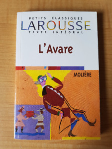 L'Avare by Molière - French Book