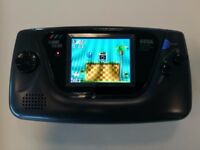 "SEGA Game Gear Fully Refurbished with McWill 3.5"" LCD Mod"