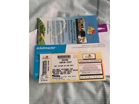2 X V festival weekend camping tickets