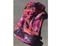 LARGE MAISIE MOO WHEELED HOLD-ALL / TRAVEL BAG