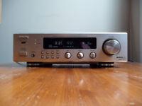 denon amp receiver phono tuner dra-f100