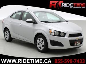 2014 Chevrolet Sonic LT - Heated Seats, USB/AUX port