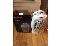 Challenge 2.4kw Oscillating Upright Fan Heater